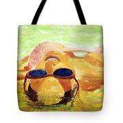 Floating In Water Tote Bag