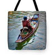 Floating Market Tote Bag