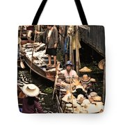 Floating Market Bangkok Tote Bag