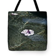 Floating On Reflections Tote Bag
