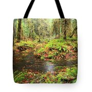 Flood In The Forest Tote Bag