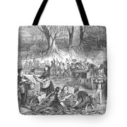 Flood Of Fish, 1867 Tote Bag