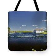 Flooded Farm Tote Bag