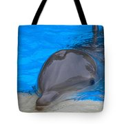Published Secret Lives Dolphins Tote Bag