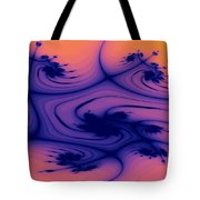 Floral Abstact Tote Bag
