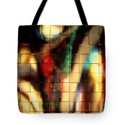Floral Abstract II Tote Bag
