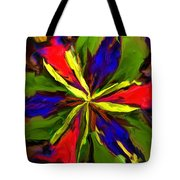 Floral Abstraction 090312 Tote Bag