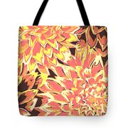 Floral Abstraction 18 Tote Bag