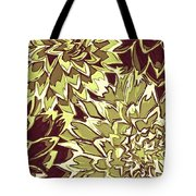 Floral Abstraction 19 Tote Bag