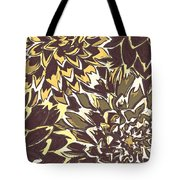 Floral Abstraction 21 Tote Bag