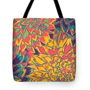 Floral Abstraction 22 Tote Bag