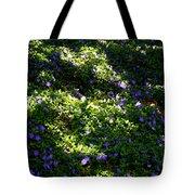 Floral Carpet Tote Bag