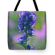 Floral Crystal Tote Bag