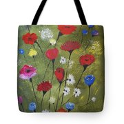 Floral Fields Tote Bag