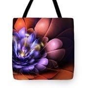 Floral Flame Tote Bag