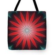 Floral Geometric 102311a Tote Bag