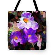 Floral Jam Tote Bag