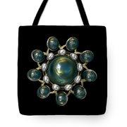 Floral Jewel Tote Bag