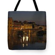 Florence - Ponte San Trinita Tote Bag