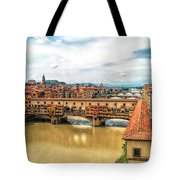 Florence Bridges II Tote Bag