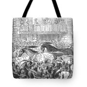 Florence: Horse Race, 1857 Tote Bag