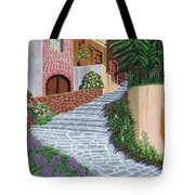 Florence Italy Apartments Tote Bag
