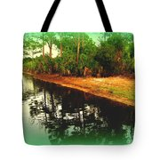 Florida Landscape Tote Bag by Susanne Van Hulst