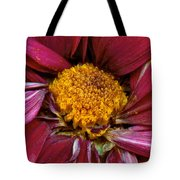 Flower - At The Center Of It All Tote Bag