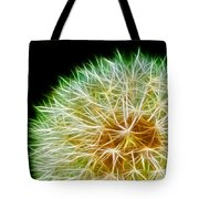 Flower - Forbidden Planet - Abstract Tote Bag
