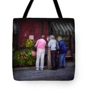 Flower - The Garden Club  Tote Bag