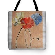 Flower And Bud Tote Bag