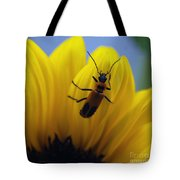 Flower And Bug Tote Bag