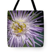 Flower And Spider Tote Bag