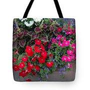 Flower Box Tote Bag
