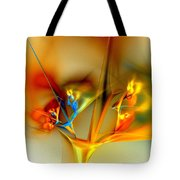 Flower Composition Tote Bag