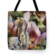 Flower Full Of Color Tote Bag