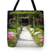 Flower Garden - Digital Painting Tote Bag