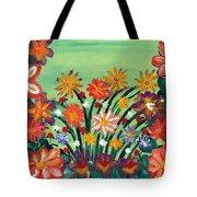 Flower Garden Tote Bag