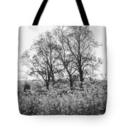 Flower Homage To The Trees Tote Bag