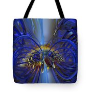 Flower In The Abstract Light Fx  Tote Bag