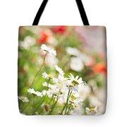 Flower Meadow Tote Bag by Elena Elisseeva
