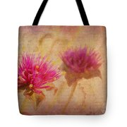 Flower Memories Tote Bag