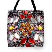 Flower Of Beads Tote Bag