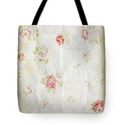 Flower Pattern Retro Design Tote Bag by Setsiri Silapasuwanchai