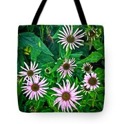 Flower Patterns Tote Bag