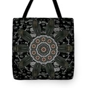 Flower Planet And Other Planets Pop Art Tote Bag