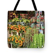 Flower Shop In Amsterdam Tote Bag