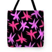 Flower Stars  Tote Bag