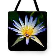 Flower Symmetry Tote Bag