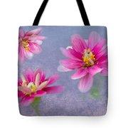 Flower Triplets Tote Bag